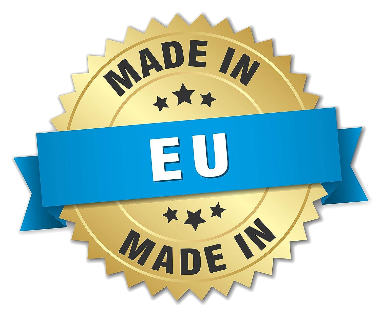 Unisex Baby Strampler Langarm 100/% Bio-Baumwolle Hase, 50//0 Monate For Babies Made in EU