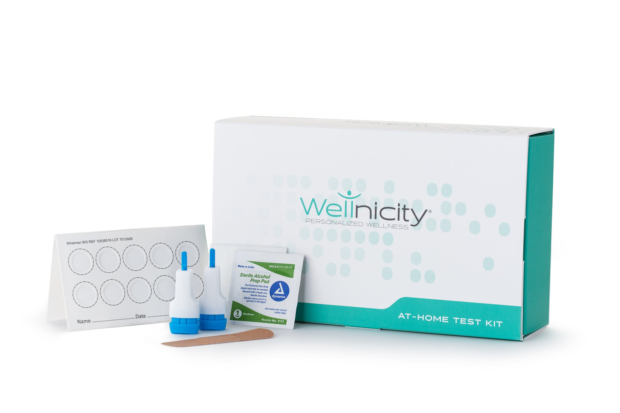 Wellnicity - At-Home Thyroid Test - Measures 3 thyroid hormones that may be contributing to fatigue, weight gain, muscle/joint pain or thinning hair (Not available in NY, NJ, MD or RI)