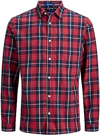 Jack & Jones Jorjake Shirt LS Org Camisa Casual para Hombre: Amazon.es: Ropa y accesorios