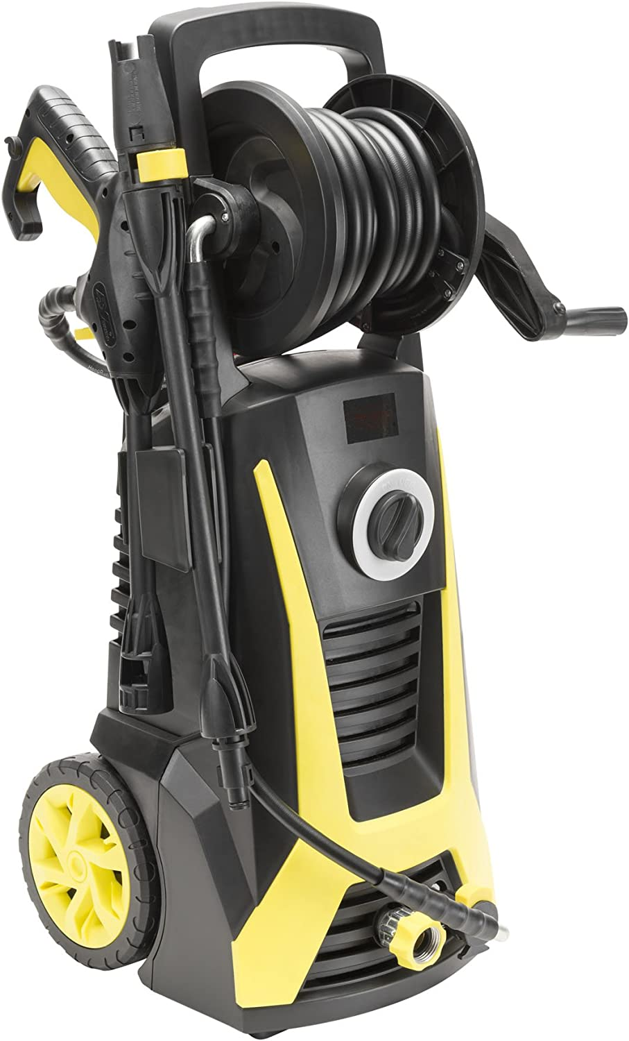 Realm 2000 PSI 1.60 GPM 13 Amp Electric Pressure Washer with Hose Reel and Built in Detergent Tank