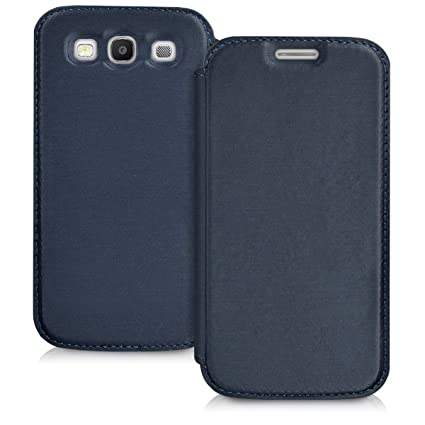 Amazon.com: kwmobile Práctica y Chic Flip Cover – Funda para ...
