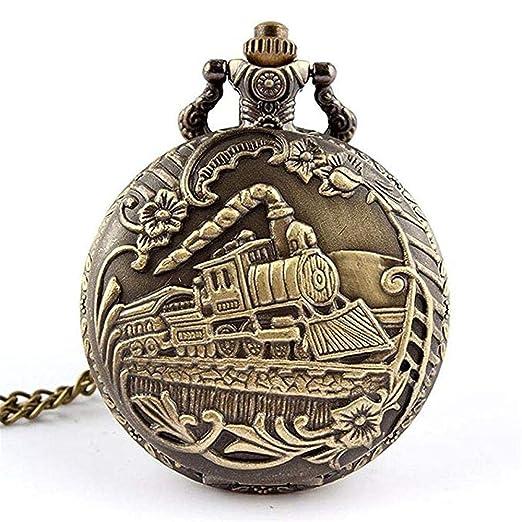 ffba3225a907 Collar de Reloj de Bolsillo de Cuarzo