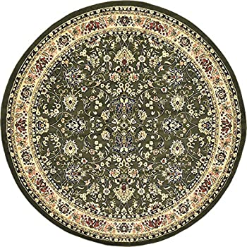 Amazon Com A2z Rug 8 Feet Round Covent Garden Persian