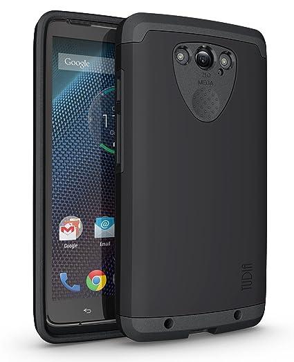 Motorola DROID Turbo Funda, Caja protectora TUDIA Slim-Fit CYGEN de doble capa para