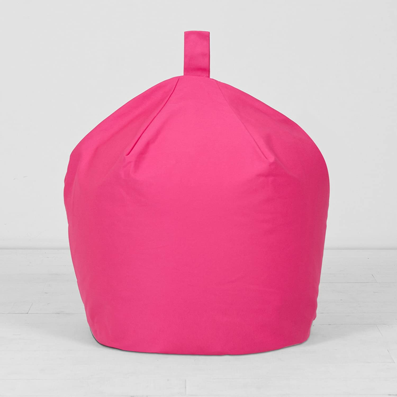 Large Hot Pink Bean Bag Chair For Kids Adults 100 Cotton