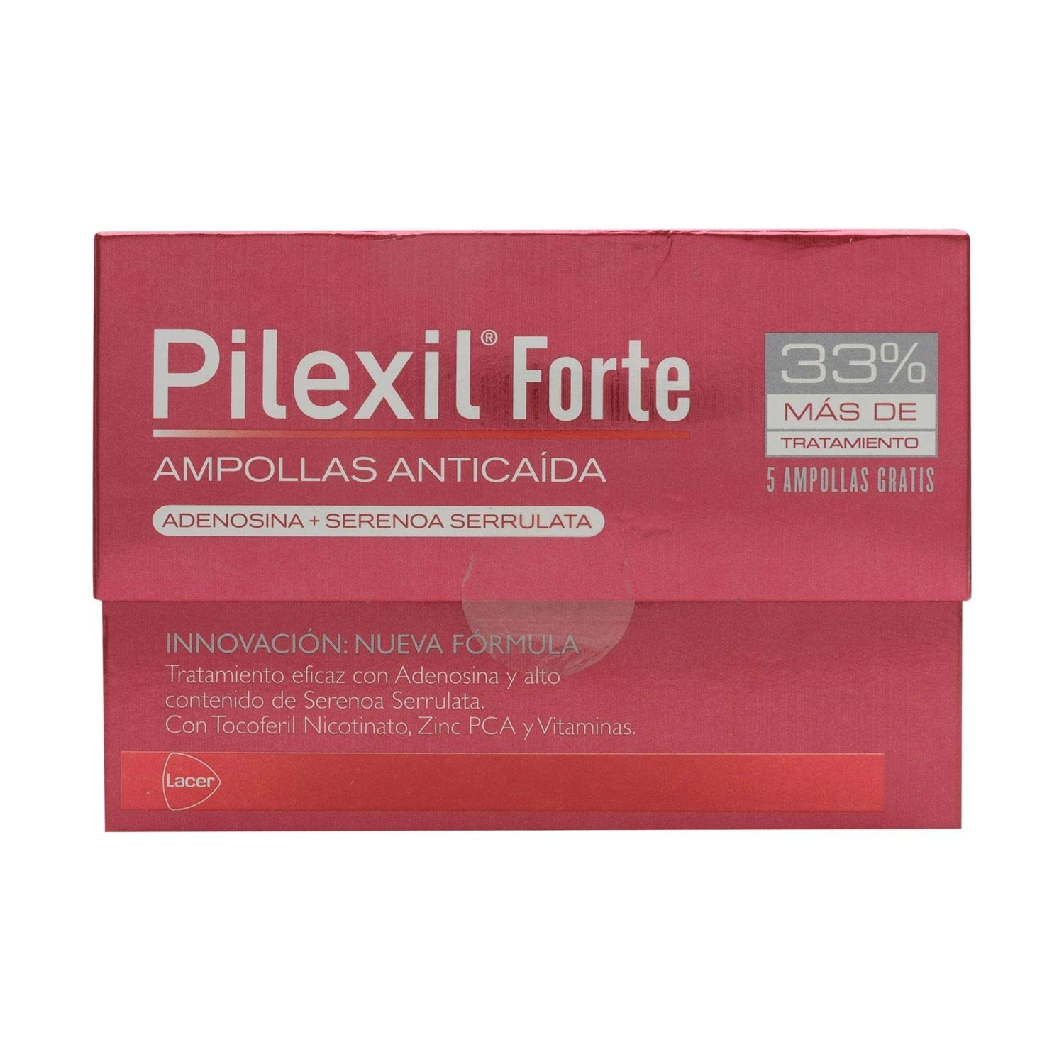 Amazon.com: Pilexil Forte Hair Loss Treatment 15 Amp. - Get Rid of Alopecia - Hair Loss and Baldness Cure - Fast Hair Growth and Restoration: Beauty