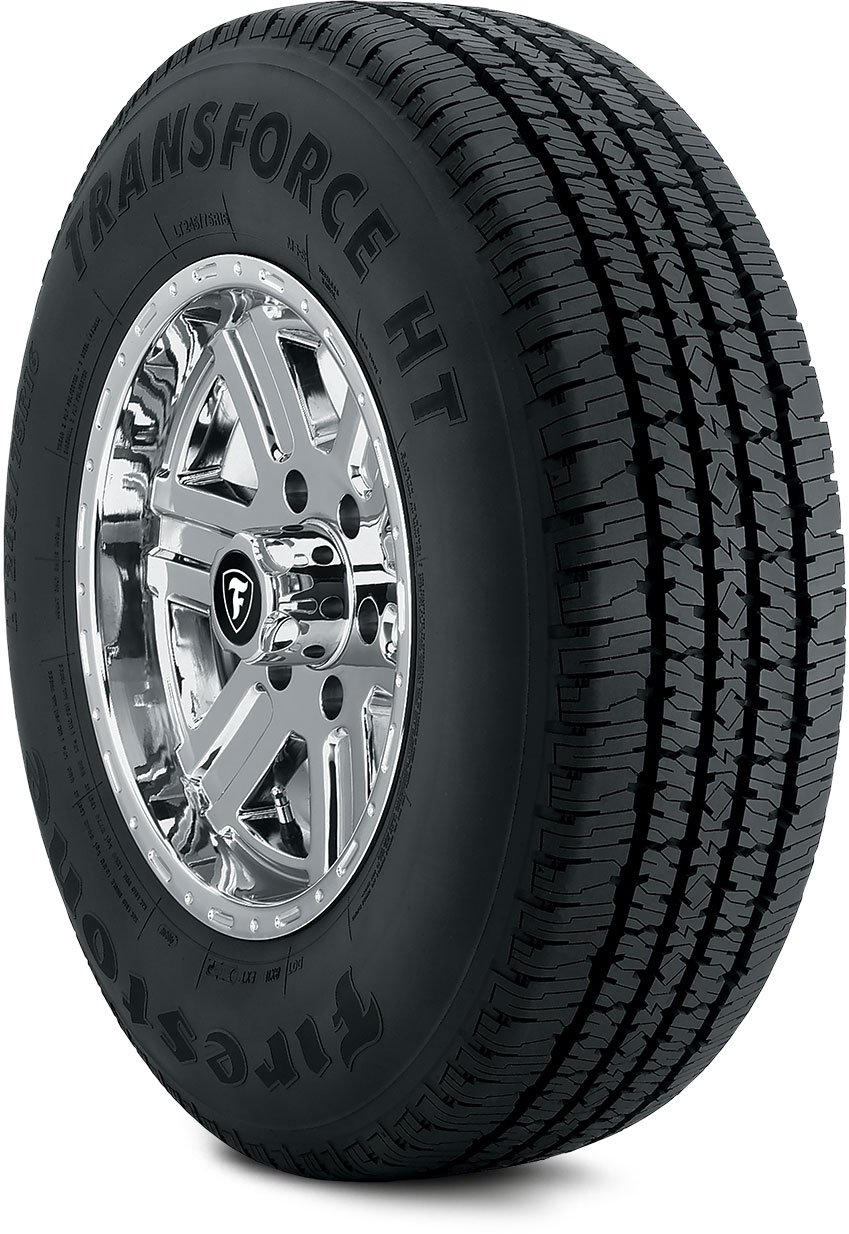 Firestone TRANSFORCE HT Commercial Truck Tire - LT275/70R18 125S E/10 125S