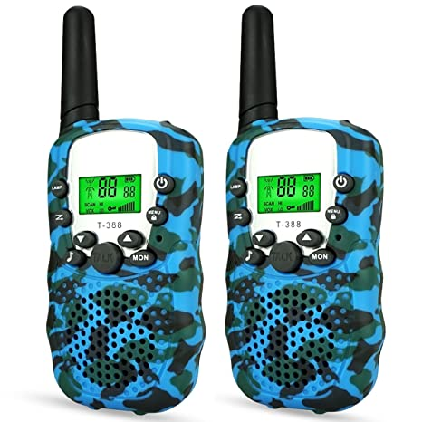 DIMY Toys For 4 5 Year Old Boys Outdoor Walkie Talkies Kids