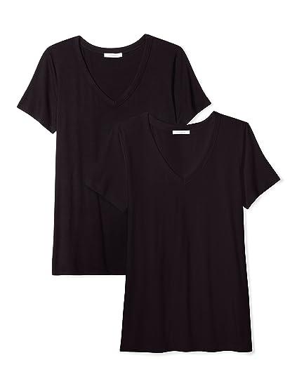 Amazon Marke: Daily Ritual, Damen Pullover mit Rundhalsausschnitt, Langarm, 100 % Baumwolle