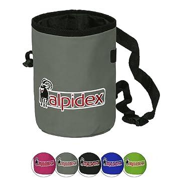 ALPIDEX Bolsa de magnesio con cinturón