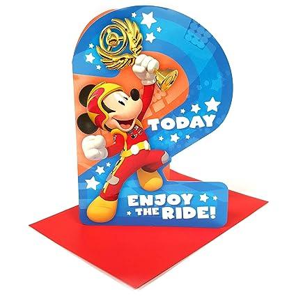 Disney Mickey Mouse 2 Today Tarjeta de cumpleaños con ...