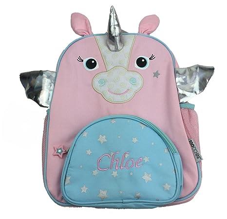 Personalizado Unicornio mochila/mochila. Gran regalo para niños de vuelta a la escuela infantil