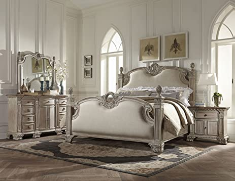 Amazon.com: Chatelet French Provincial 5 Piece Cal King Bedroom ...