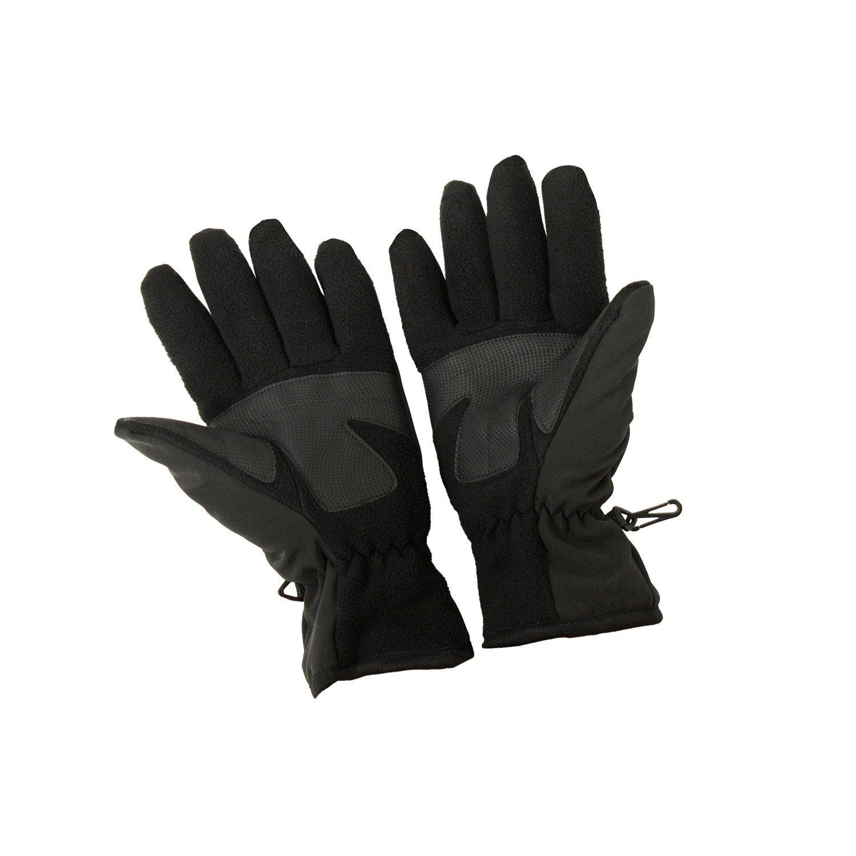 Schwarze Softshell-Handschuhe von First B bis Größe 12