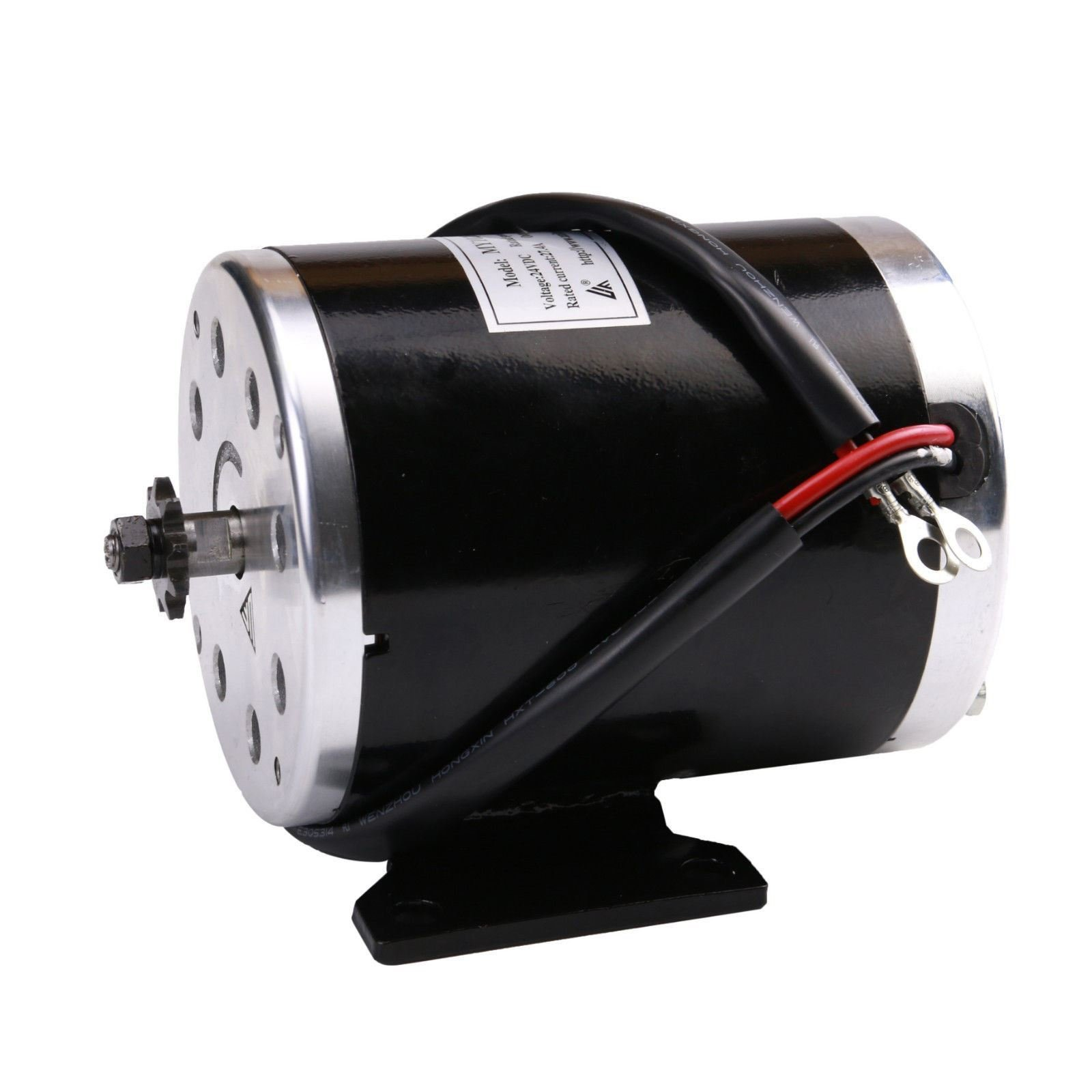 TDPRO 24V 500W Brush Electric Motor for Go Kart Scooter E Bike Motorized Bicycle ATV Moped Mini Bikes | #T8F Chain Brushed Motor