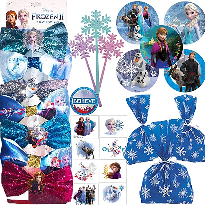 Frozen 2 Favor Toppers Frozen 2 Favor Treat Bag Toppers Frozen 2 Favor Tags Printable Frozen 2 \u201cThanks for coming\u201d Goodie Bag Toppers
