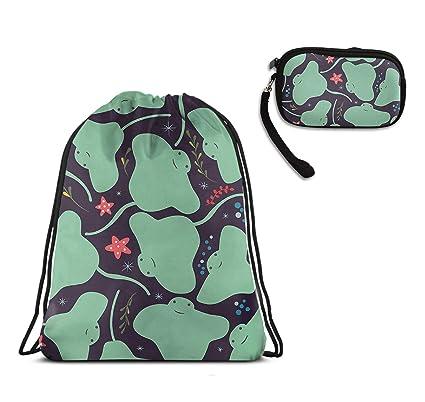 Amazon.com: Kawaii Sting Ray Mochila de viaje, bolsa de ...