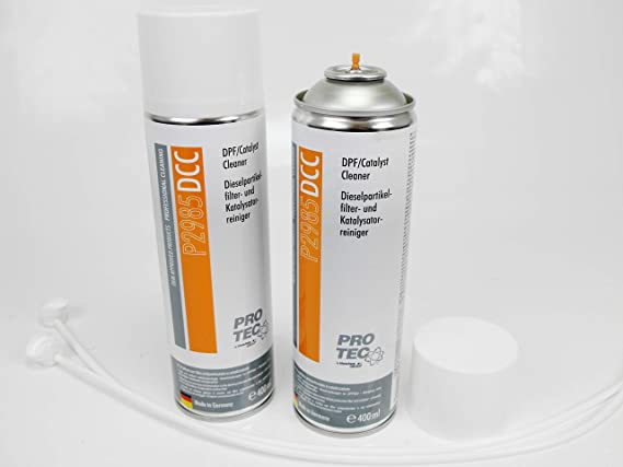 2 x 400 ml Diesel filtro de partículas limpiador y catalizador limpiador DPF p2985dcc: Amazon.es: Coche y moto