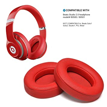 ... 2 Piezas Cojín de Almohadillas de Espuma para Beats Studio 2.0 Wired/Wireless B0500 B0501 Auriculares y Beats Studio 3.0: Amazon.es: Electrónica