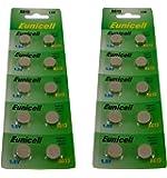 40 x AG13 G13 SR44 LR44 A76 V13GA PX76A 357 Alkaline Button Batteries [Watch]