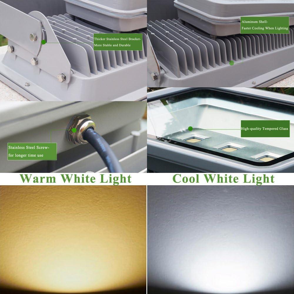 Flutlicht, 30W, 3300 Lumen, IP65, 4500K, tageslicht-wei/ß 3x Showlite FL-2030 LED Outdoor Fluter