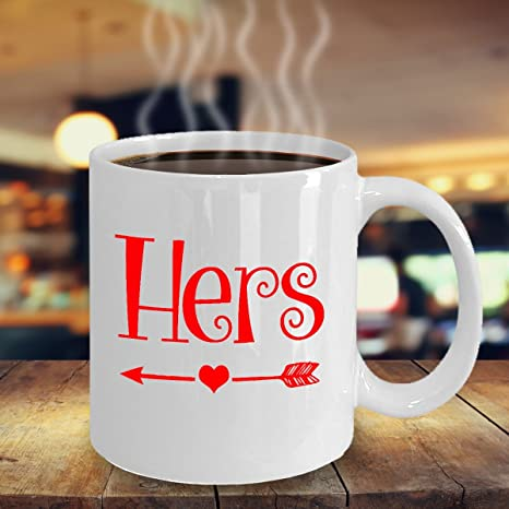 Amazon Com Valentine Mug Hers Valentines Mug Gift Ideas