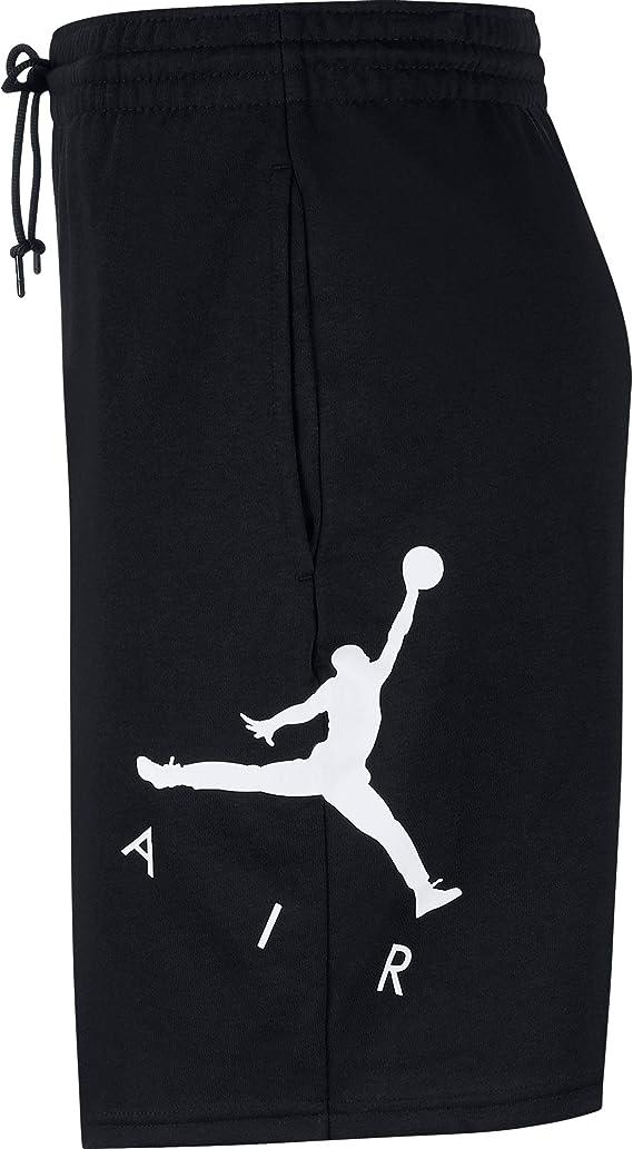 Jordan Air GFX Nike Short en Polaire pour Homme Noir