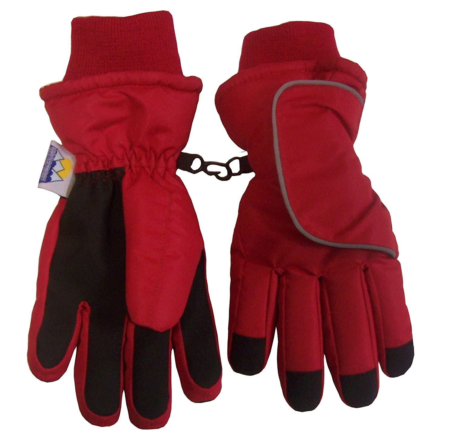 N'Ice Caps Kids and Toddler Easy On Wrap Thinsulate Waterproof Gloves 4933