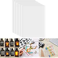 Transparency Paper Film for Inkjet Printers, 25 Sheets A4 Size Quick Dry, 100% Clear Transparency Film for Overhead…