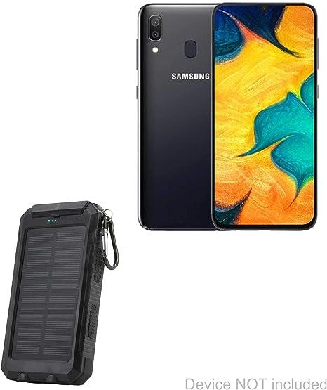 BoxWave - Batería para Samsung Galaxy A30 (6000 mAh), color negro ...