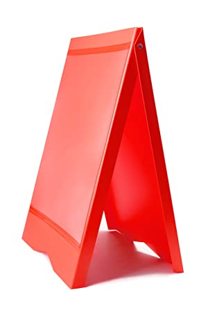 Amazon.com : A-Frame PVC Wine BAR Stand Message Memo ...