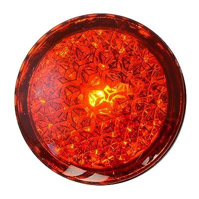Grand General 82314 Red Light Reflective Stick-On: Automotive