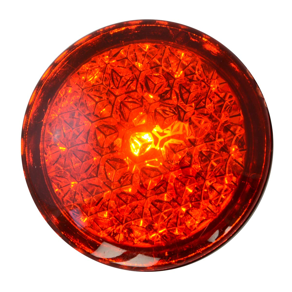 Grand General 82310 Light Amber Reflective Stick-On