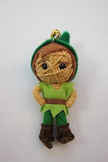 Amazon.com: 1 x Peter Pan Cute Voodoo Cadena Llavero con ...