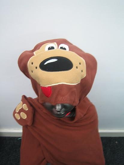 Manta de forro polar con capucha para niños de perros diseño ...