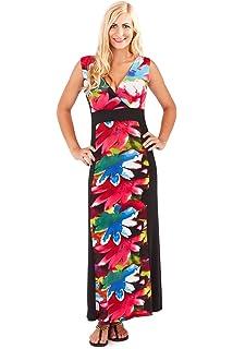 f891bcf0167 Aofur Sexy Ladies Womens Long Maxi Split Dress Plus Size 8-24 Casual ...