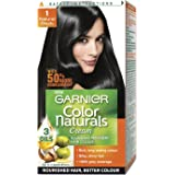 Garnier Color Naturals Cream, Natural Black 1, Mini 29ml+16g