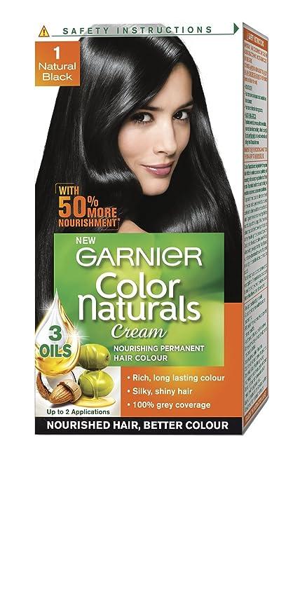 Buy Garnier Color Naturals Cream Natural Black 1 Mini 29ml16g