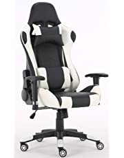 Millhouse Gaming Racing Sport Desk Chair Adjustable Computer Chair Lumbar and Head Pillow Chair
