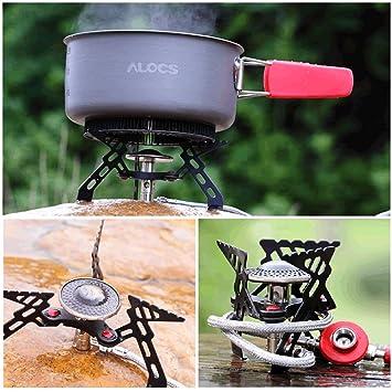 Alocs OxGrow™ CS-G05 Picnic grabadora de Gas al aire libre estufa Phenix plegable