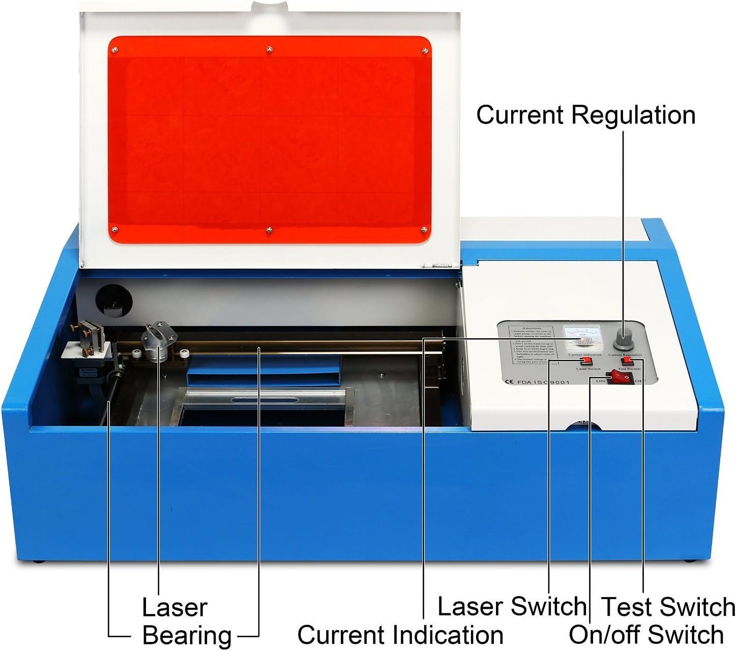 16 X 24 Mophorn Laser Engraving Machine Laser Engraver Laser Engraving Cutting Machine for Arts and Crafts