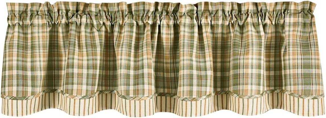 Park Designs Rosemary Layer Valance, 72 by 16