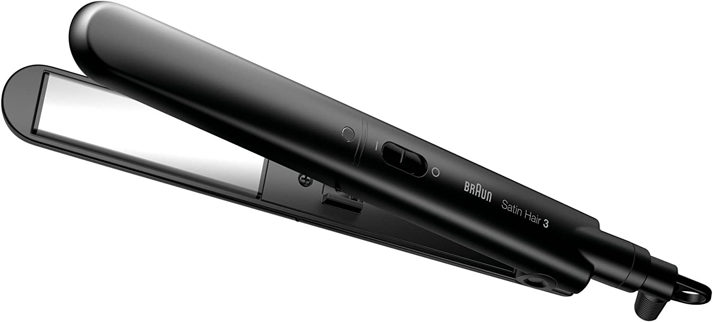 Braun ST300 Braun ST300 - Plancha de pelo con placa de cerámica, color negro