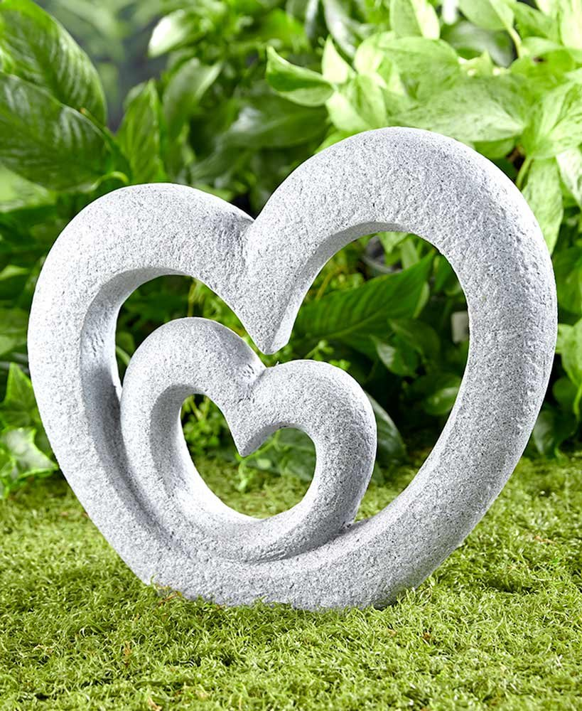 The Lakeside Collection Heart Garden Sculpture