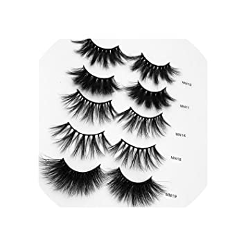 8c751b6f951 Fake eyelashes 50 Pairs 3D Mink Lashes Wholesale Long Fairy False Eyelashes  Natural Crisscross Wispy Eyelashes
