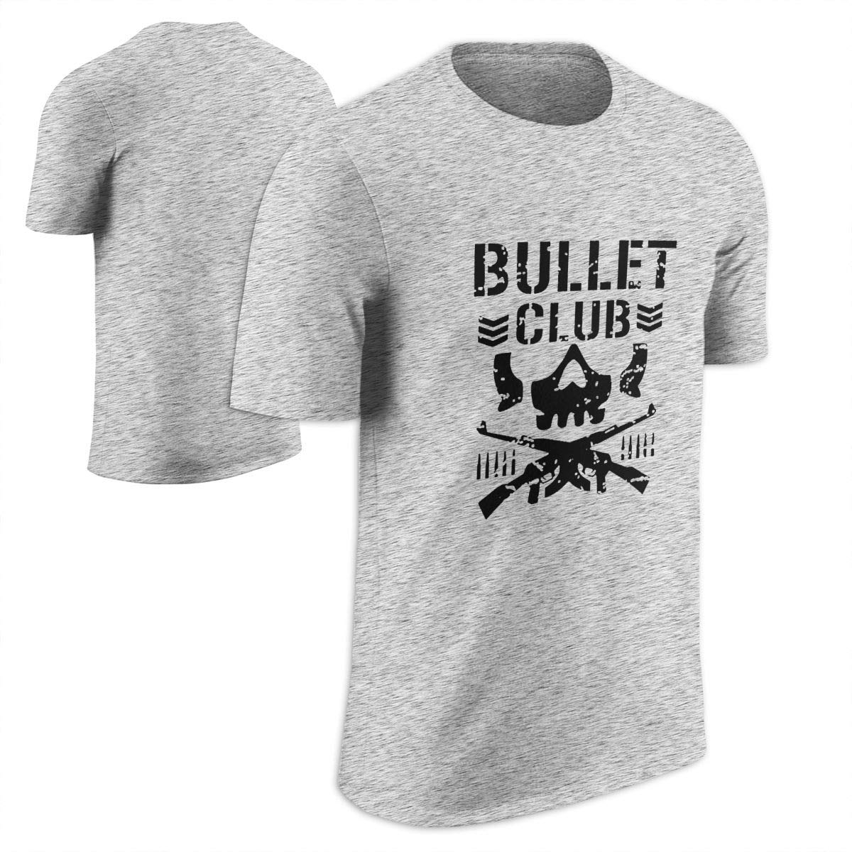 New Way 786 - Unisex T-Shirt Bullet Club Skull Bone Soldier Japan Pro Wrestling XL Black by New Way