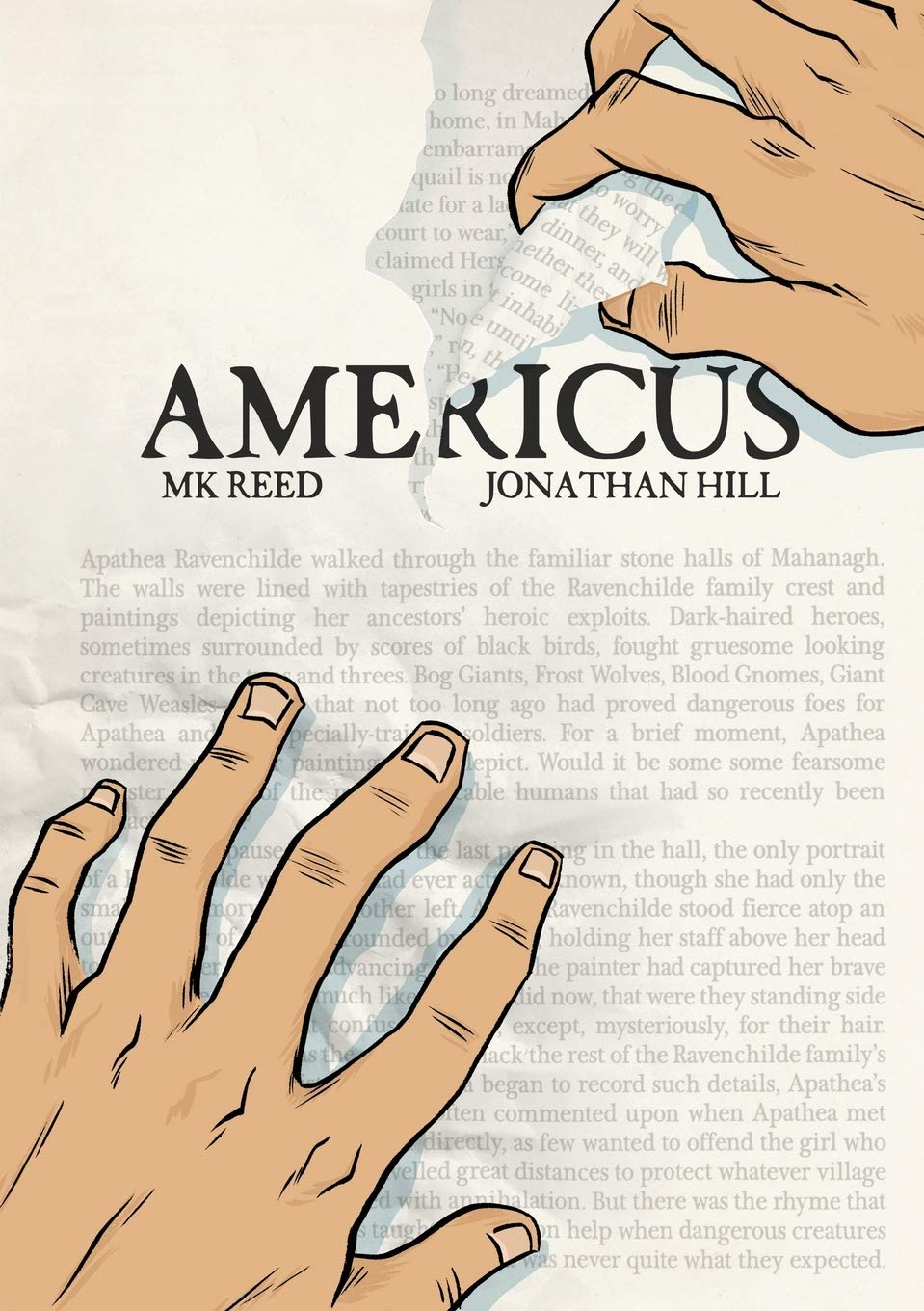 Amazon.com: Americus (9781596436015): Reed, MK, Hill, Jonathan: Books