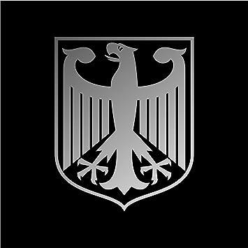 Amazon.com: German Eagle Crest Deutschland Germany Flag Panzer Decal ...