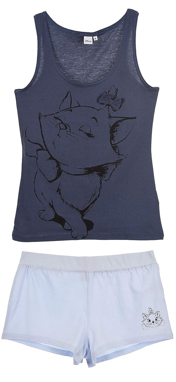 The Aristocats Damen Kurz Pyjama Schlafanzug