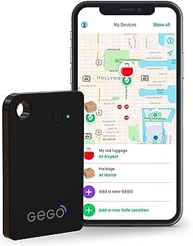 Gego - El rastreador gsm de Lugloc, Dispositivo de Seguimiento Global para Equipaje, Coches, niños y más. Bluetooth, Plan de 30 días Incluido, aplicación iOS/Android: Amazon.es: Electrónica